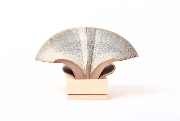 Wig Diamond - Book Sculpture