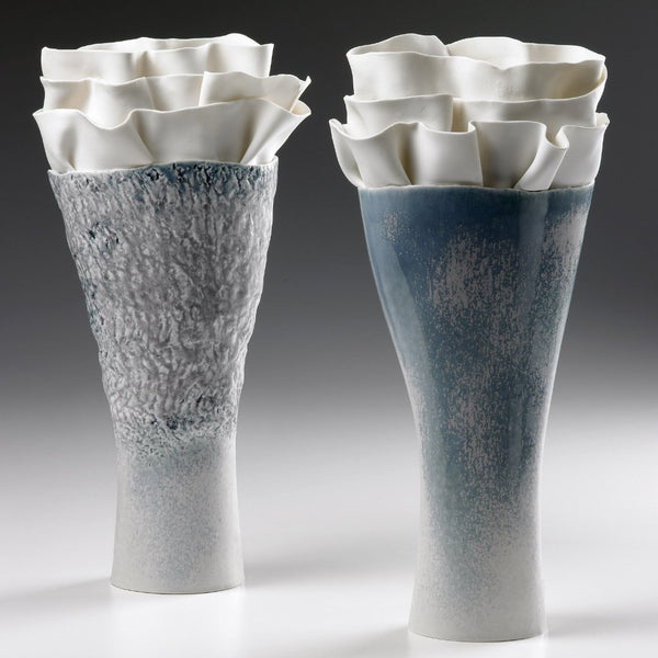 Anthozoa Long Porcelain Vase