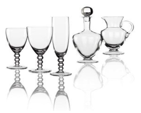 """Planet 112"" Crystal Stemware"