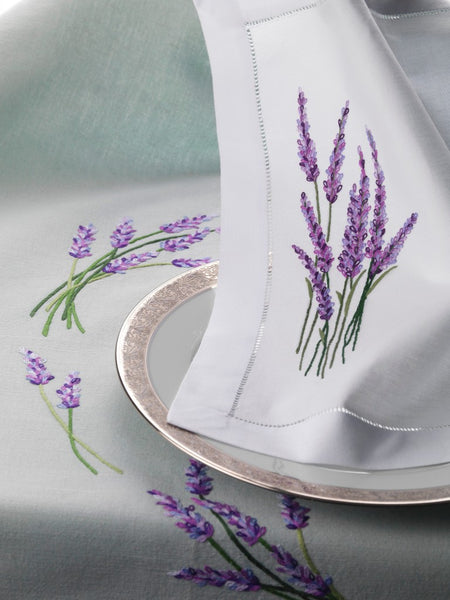 Table Linen Hand Embroidered: Provence