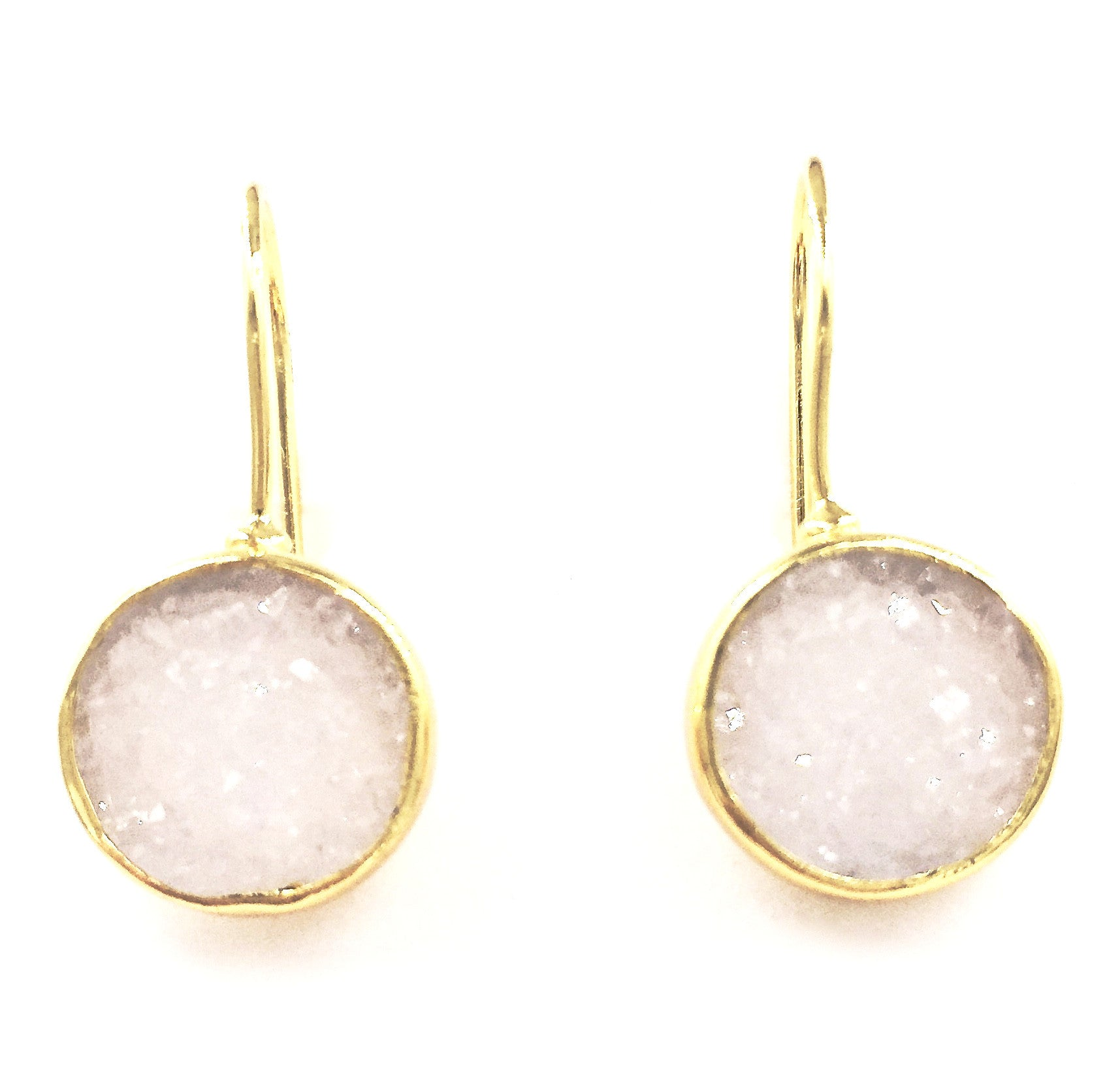circular lagos jewelry m circle drop earrings enso
