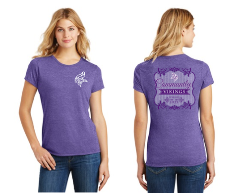 Ladies Tri-Blend Community T