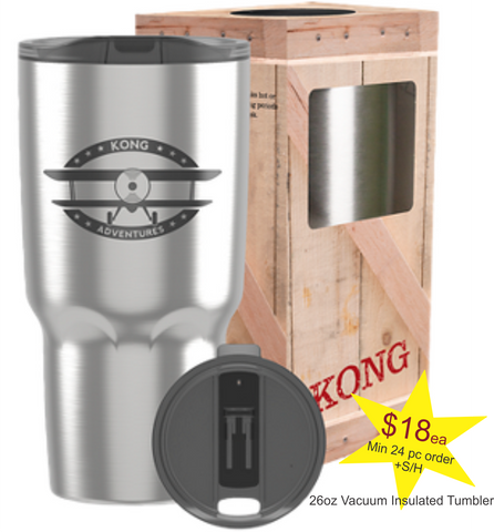 24 - 26oz Stainless Steel Double Insulated Tumbler