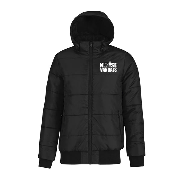 Noise Vandals puffer bomber Jacket