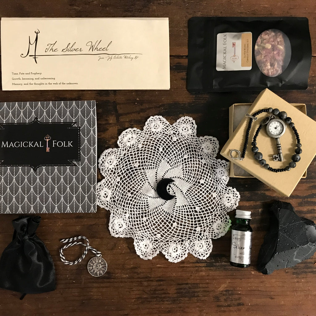 The Silver Wheel, June Eclectic Witchery Kit