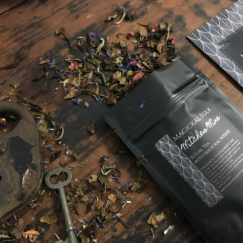 Witches Wine, Ritual Tea for Pleasure and Presence.