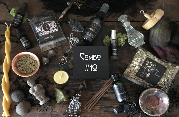 Combo  #12, Seasonal Series Box, Tea, Meditation & Crystal Alchemy Rituals