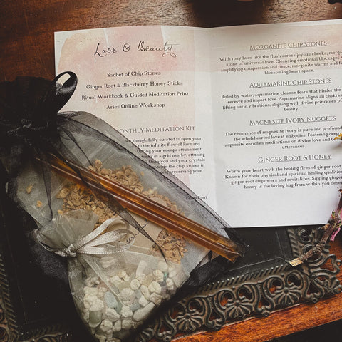 Swan & Dove Meditation Kit