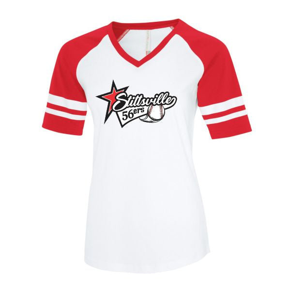 Stittsville 56ers Ladies Retro Ball Shirt