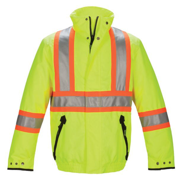 Hi-Vis Insulated Bomber Jacket