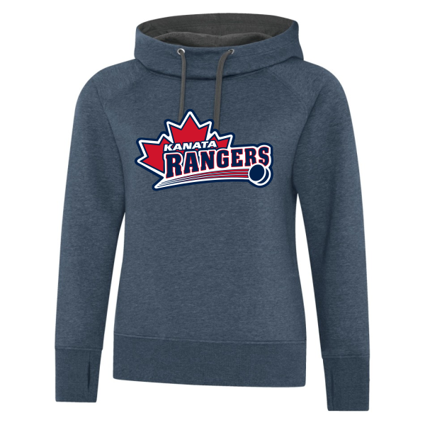 Rangers Vintage Funnel Neck Sweater