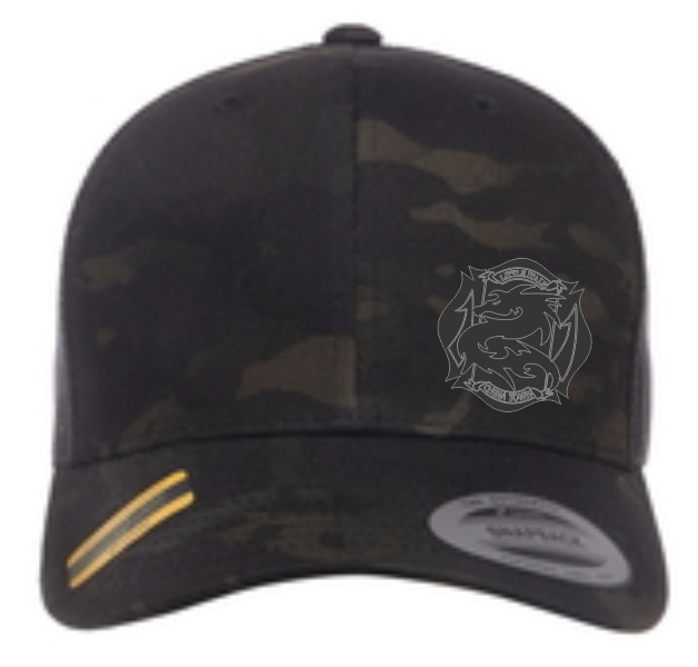 Little Italy Fire Adjustable Yupong Camo Hat