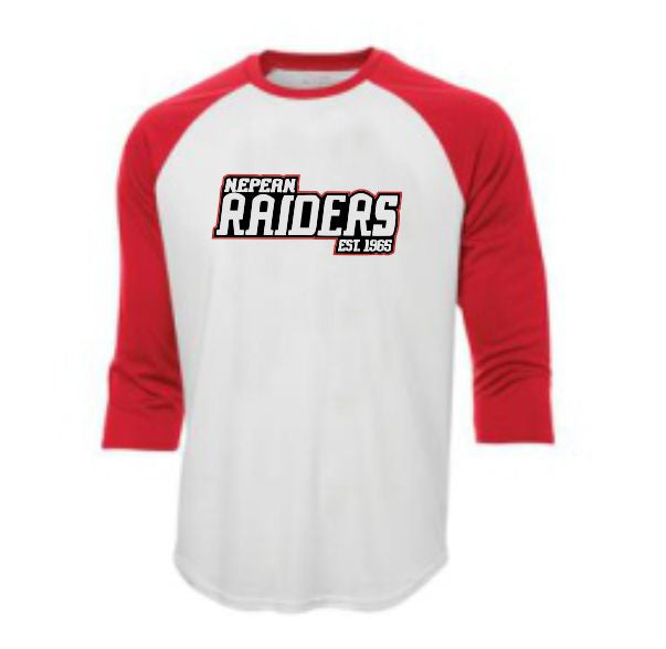 Raiders Retro baseball tee