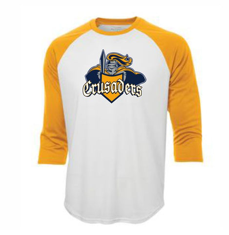 Crusaders 3/4 sleeve tee