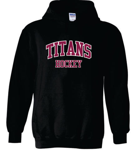 Titans Cotton Hood with Twill Text