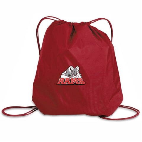 Rams Competitive Crested Cinch Bag