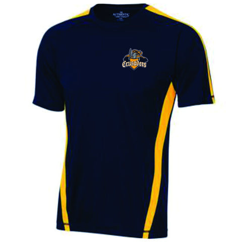 CRUSADERS Crested Performance Tees