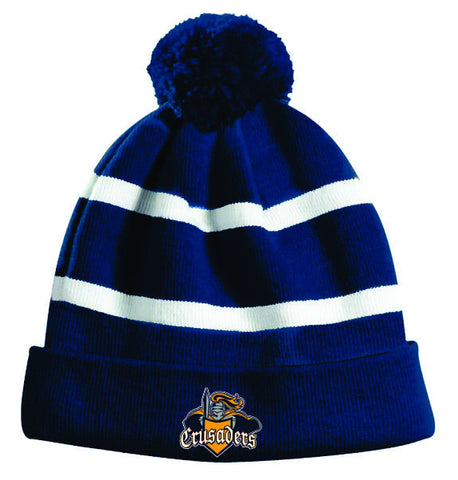 CRUSADERS Embroidered Pom Pom Toque