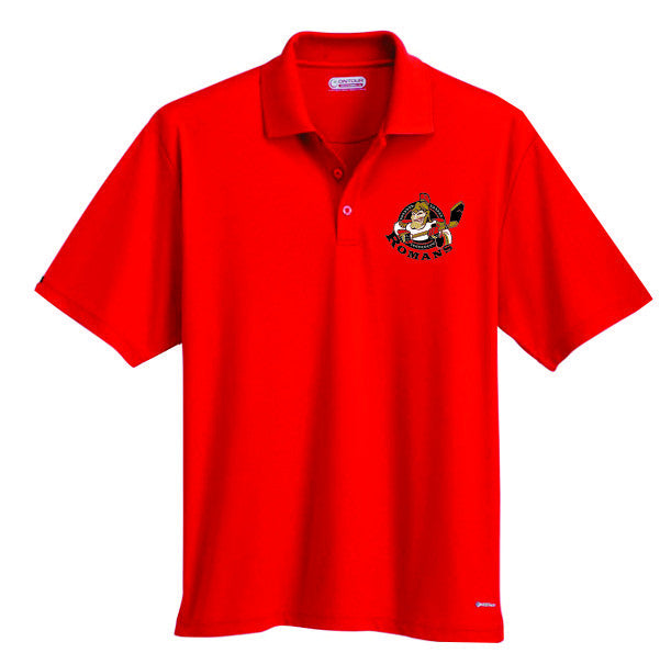 ROMANS Embroidered Golf Shirt