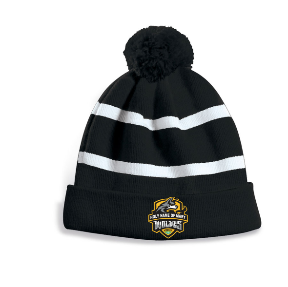 Holy Name of Mary Striped Toque