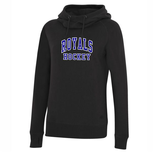 Royals Ladies Funnel neck hoodie