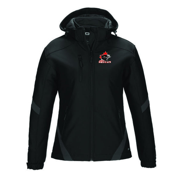 WILDCATS Hooded Winter Softshell