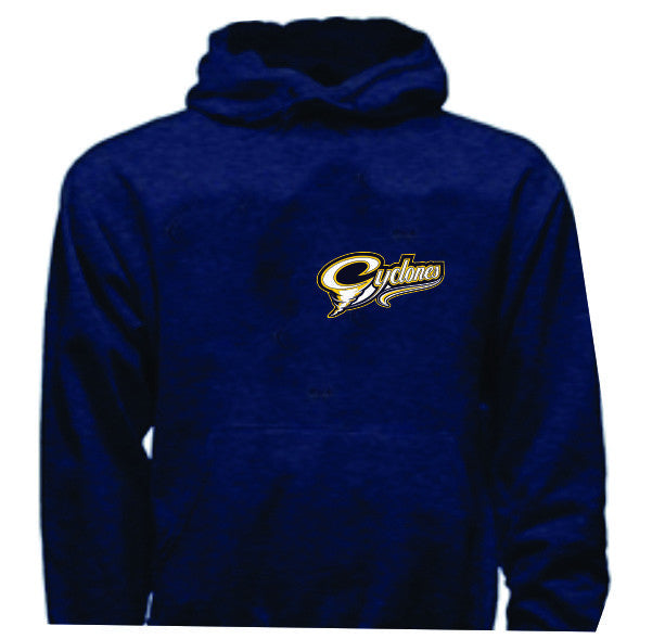 CYCLONES Hoodie Embroidered Crest