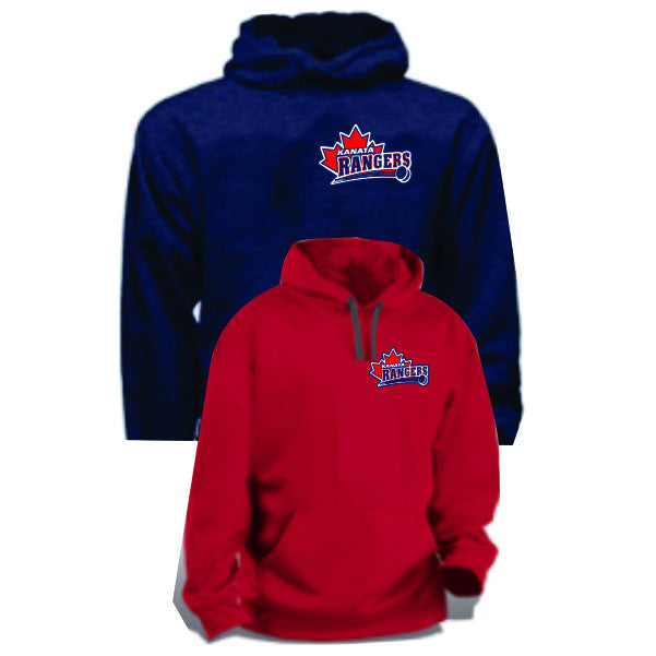 RANGERS Hoodie Embroidered Crest