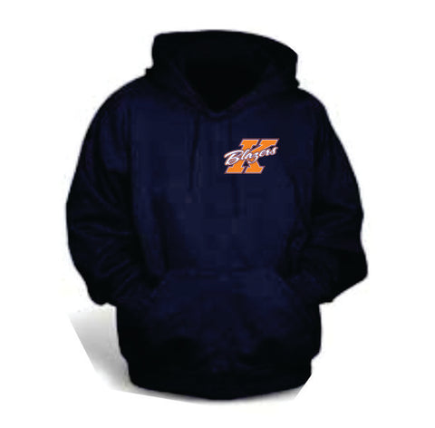 Blazers Hoodie Embroidered Crest