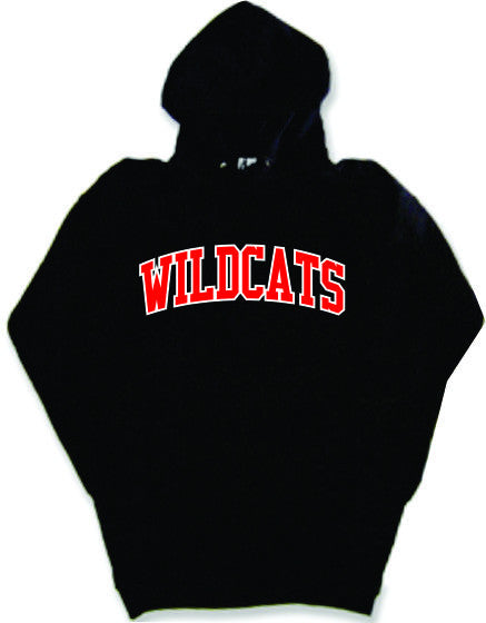 WILDCATS Hoodie with Twill Text
