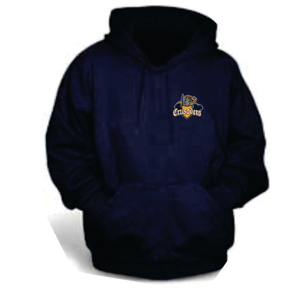 Crusaders Cotton Hoodie w small logo