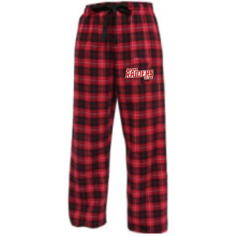 Raiders Flannel PJ Pant