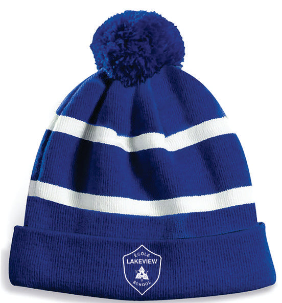 Lakeview PS Pom Pom Toque