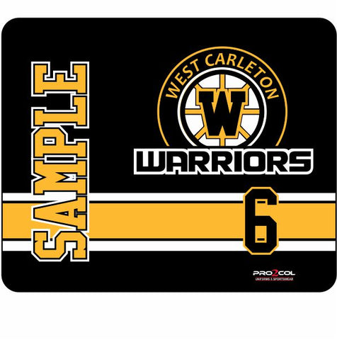 Warriors Custom Skate Mat