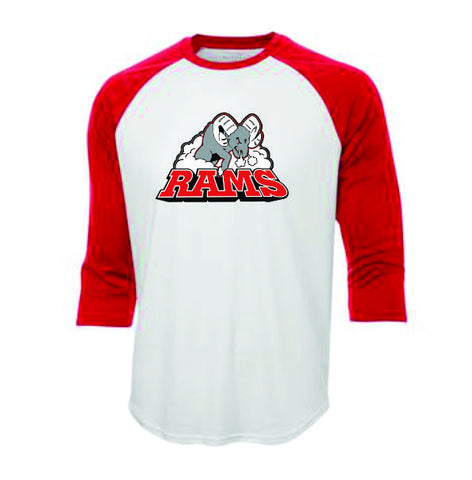 RAMS Retro baseball tee