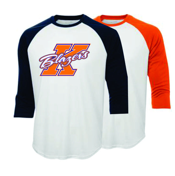 BLAZERS Sublimated 3/4 Length Ball Shirt