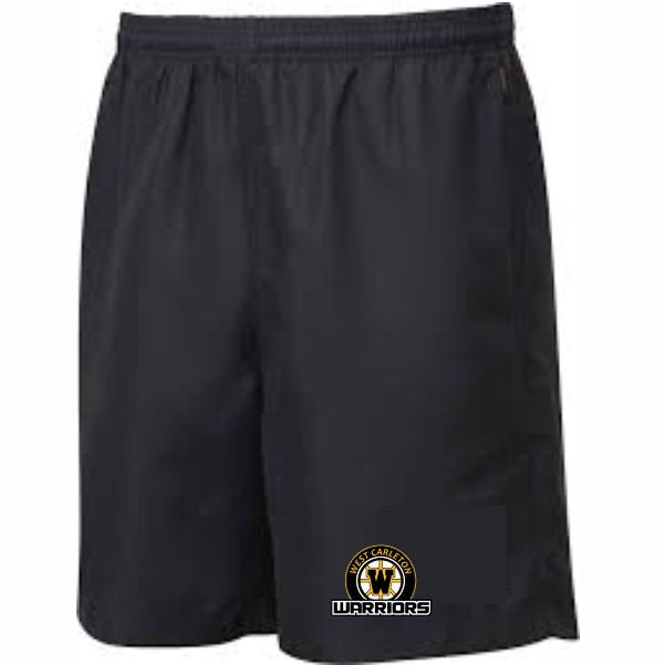 WARRIORS Crested Training Shorts