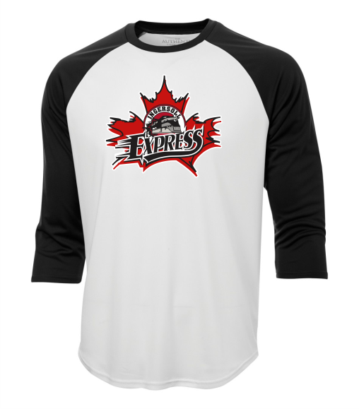 EXPRESS Retro baseball tee