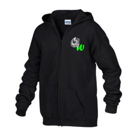 WPS  Fullzip Hoodie Embroidered Chest