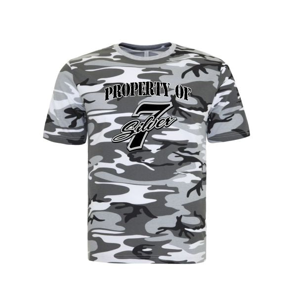 "S7 Camo ""Property of"" tee"