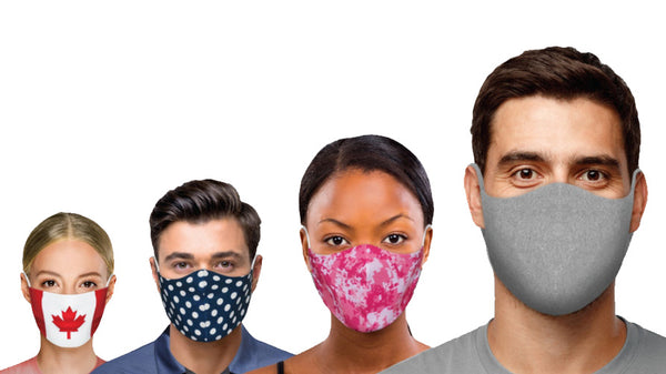 Reusable Fabric Face Masks - Available now