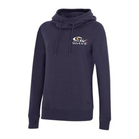 Capital Wave Ladies Funnel Neck Hoodie