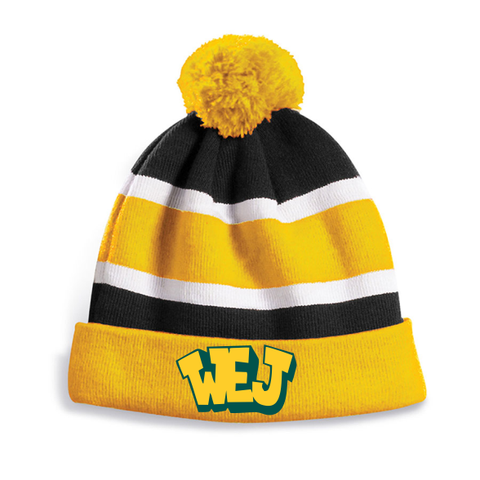 W. Erskine Johnston Fleece lined Pom Pom tuque