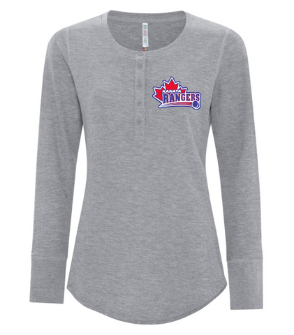 Rangers Henley Long Sleeve