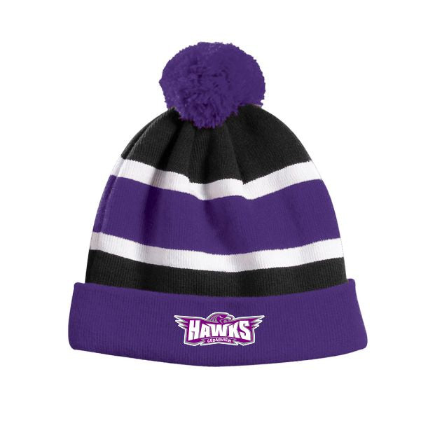 Cedarview Pom Pom tuque