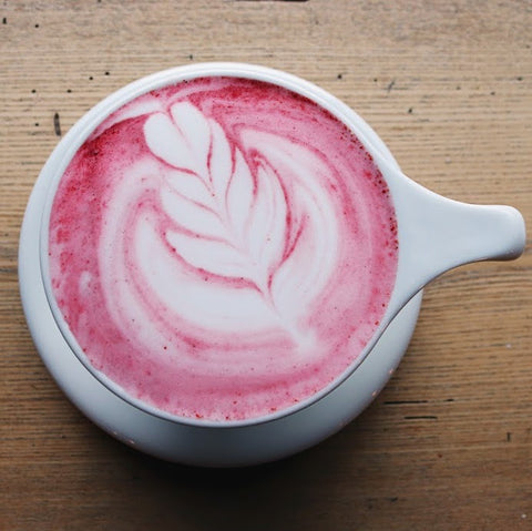 Red Latte (Regular, Cafe)