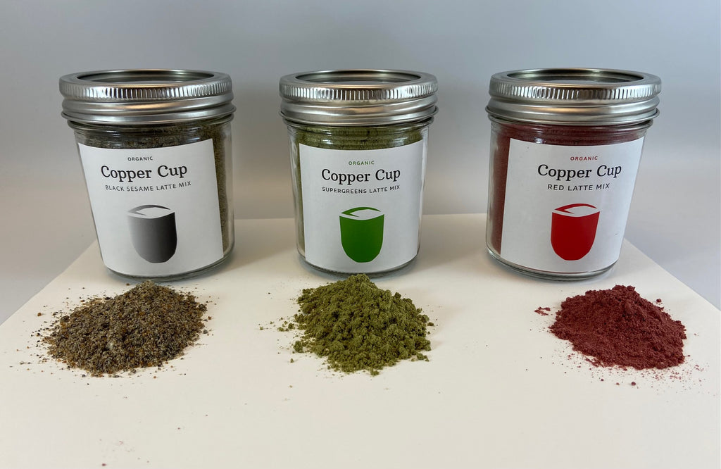 CopperCup in 18 serving reusable mason jar