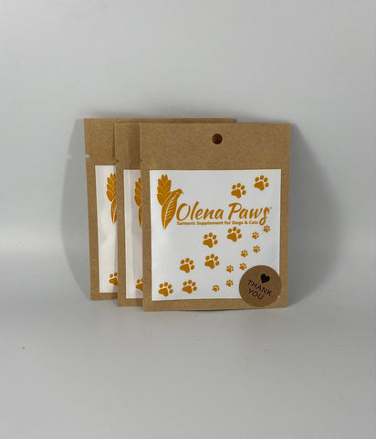 Olena Paws, Turmeric Supplement for Pets , Sampler