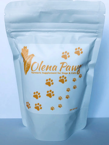 Olena Paws, Turmeric Supplement for Pets, 2.5 ounces