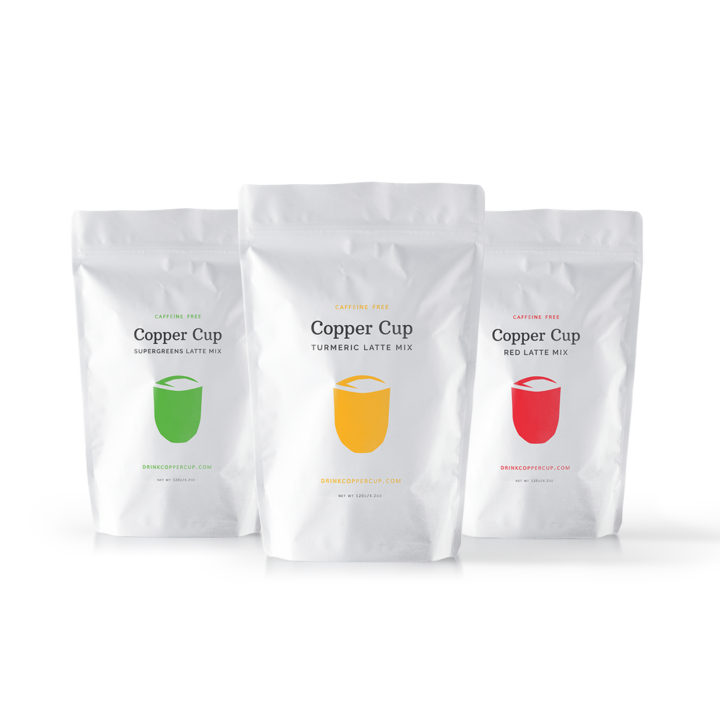 Copper Cup Pouch Sampler (3 Regular Pouches)